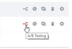 A/B test rapidology