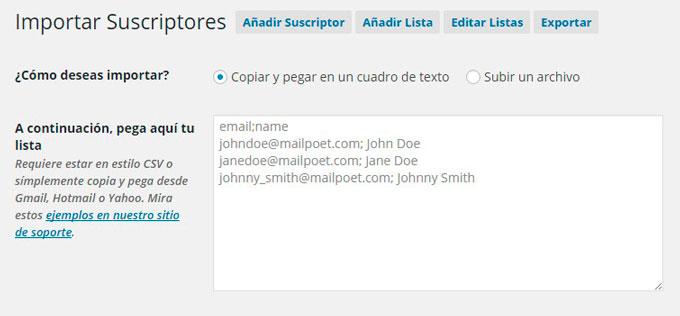 importar-suscriptores-mailpoet