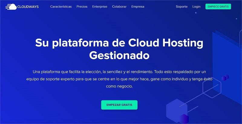 Cloud Hosting Gestionado Cloudways