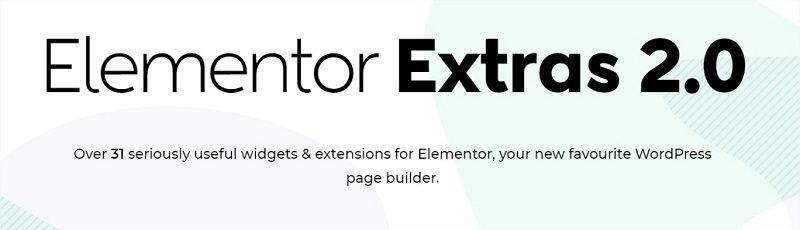 Elementor Extras 2.0 addon for Elementor