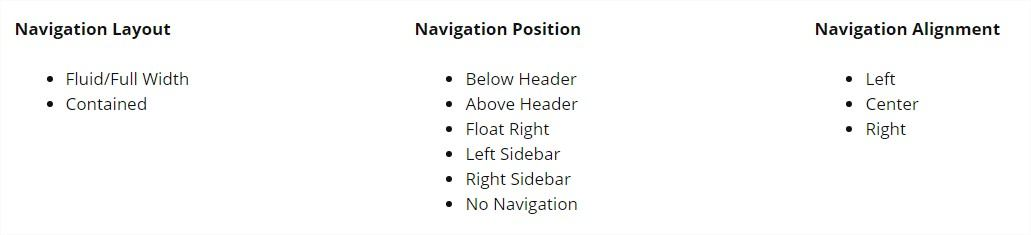 Generate Secondary Nav addon