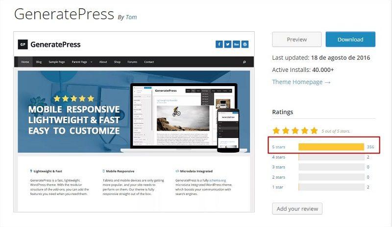 generatepress-opinion-de-usuarios