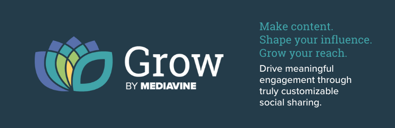 Grow by Mediavine Social Sharing Buttons