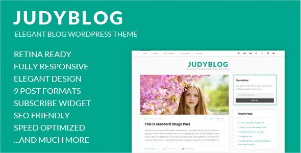 JudyBlog WordPress theme