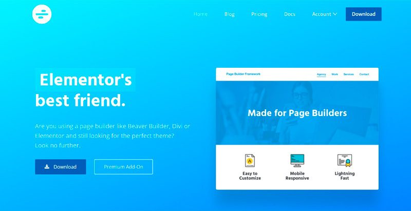 Page-Builder-Framework-theme