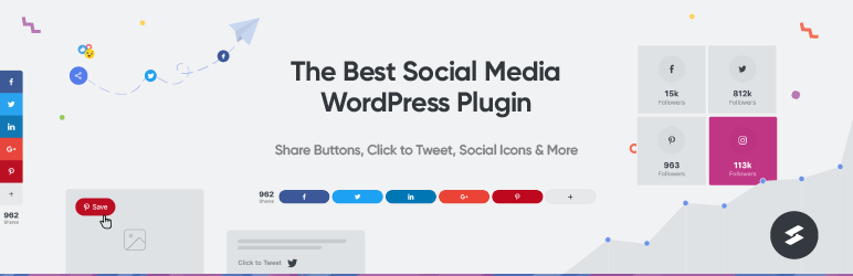 Social Share Buttons & Toolkit by Social Snap