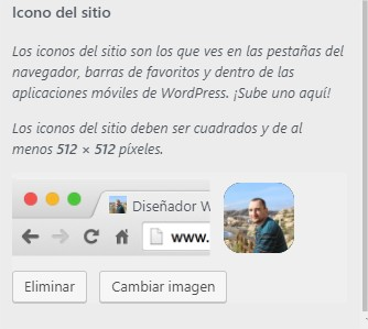 añadir favicon wordpress