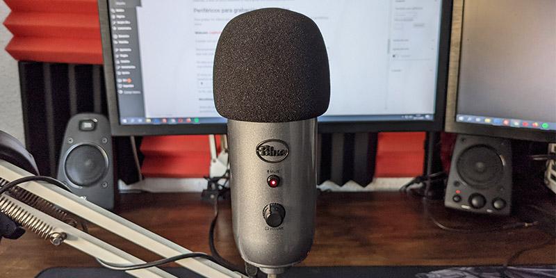 Micrófono: Blue Yeti