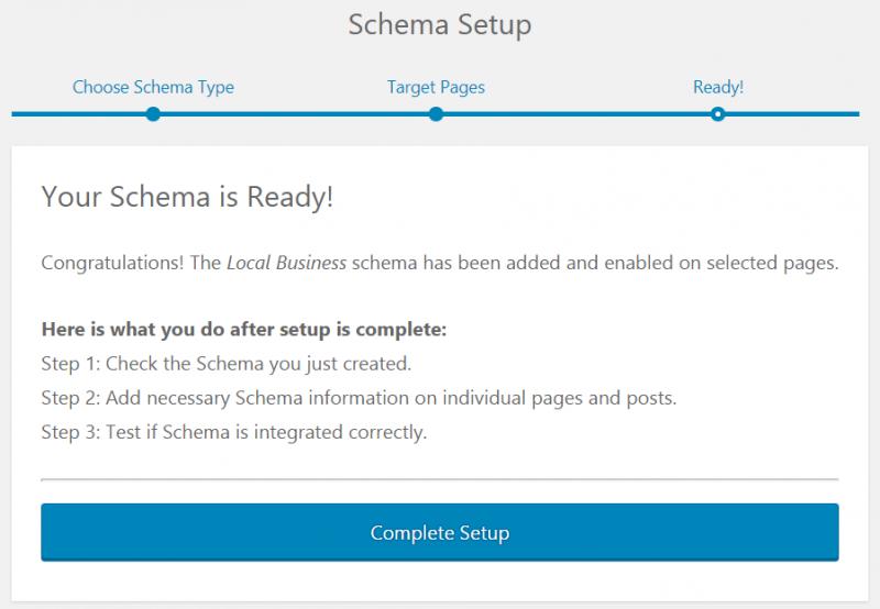configuracion wp schema pro paso 3