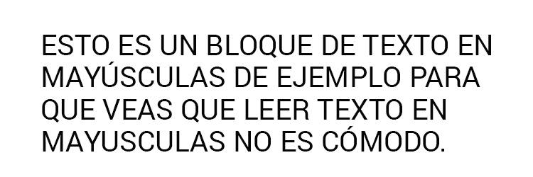 legibilidad-texto-en-mayusculas