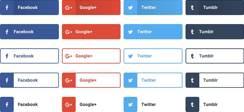share buttons elementor pro